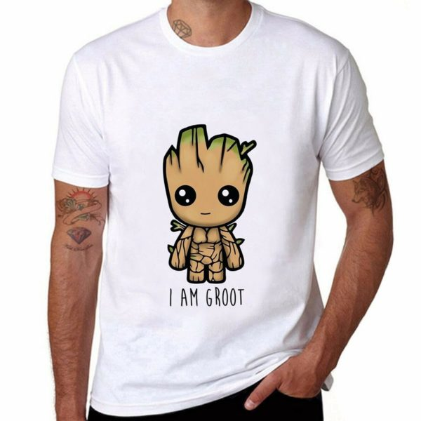 Pánské tričko s krátkým rukávem a potiskem Groota