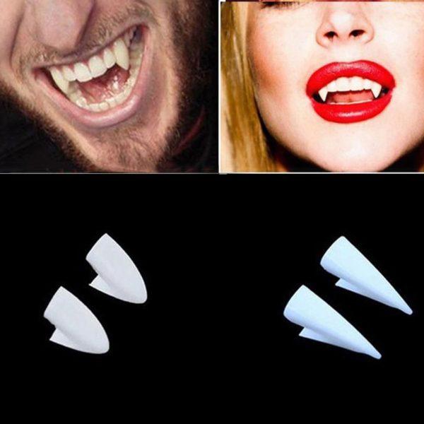 Falešné upíří zuby - 2 páry