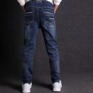 Elastické džíny pro chlapce