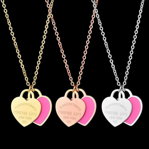 Stylový náhrdelník Forever Love pro páry