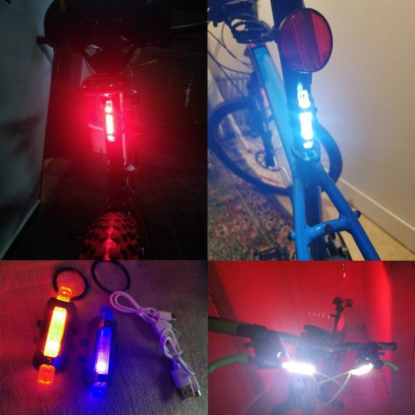 LED osvětlení na kolo