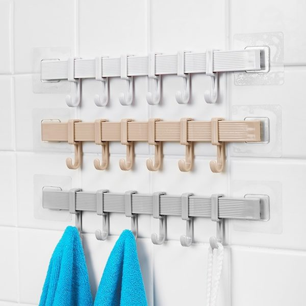 Multifunkční háčky do koupelny