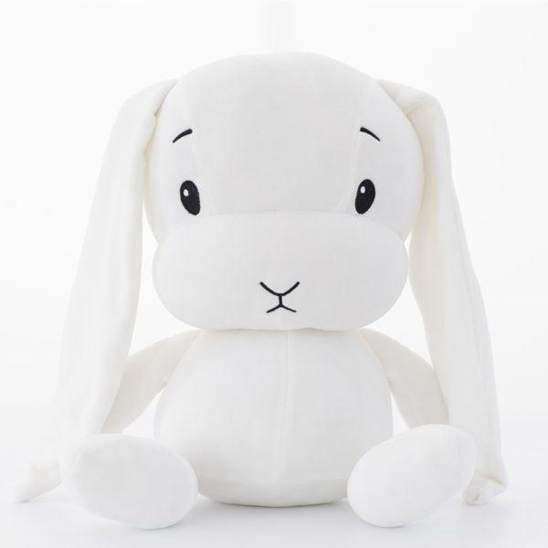 Roztomilý plyšový králíček dostupný ve třech barvách