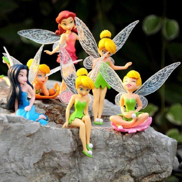 Set krásných dětských dekoračních víl