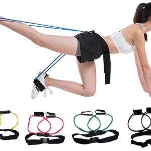 Nastavitelný cvičící opasek s pomocníkem na cvičení hýždí