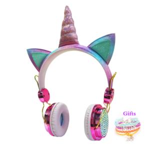Dětské unicorn sluchátka