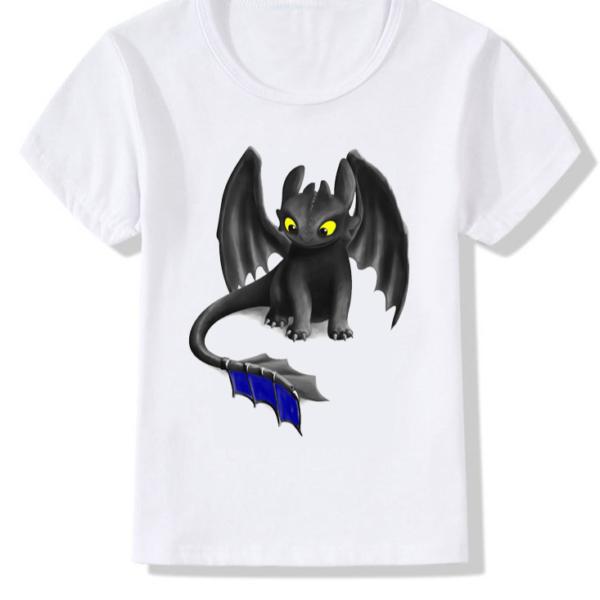 Dětské triko - Jak vycvičit draka