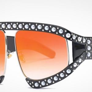Dámské sluneční zrcadlové brýle - nadměrné