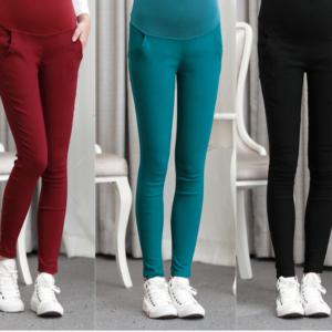 Nádherné volnočasové kalhoty pro těhotné