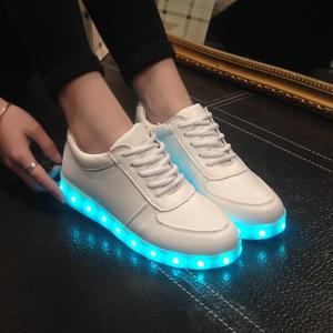 Unisex boty s LED osvětlením