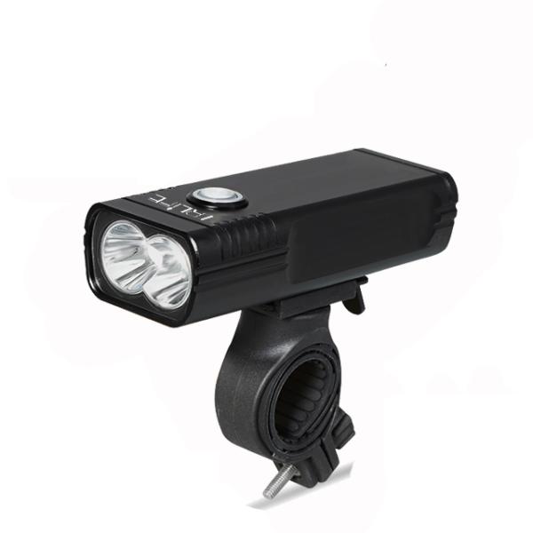 Dobíjecí vodotěsná cyklistická LED svítilna