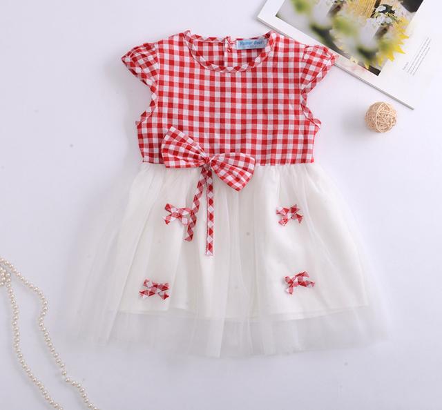 Dětské šaty s tylovou sukní