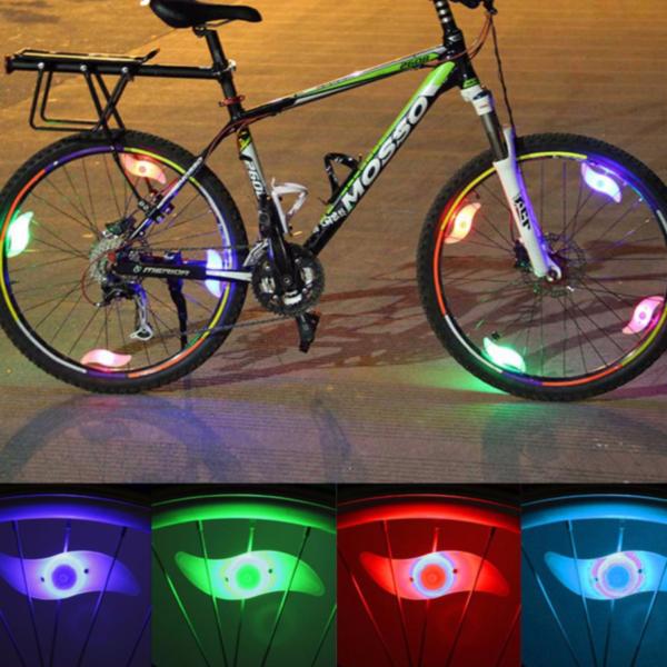Vodotěsné paprskové LED světlo na jízdní kolo