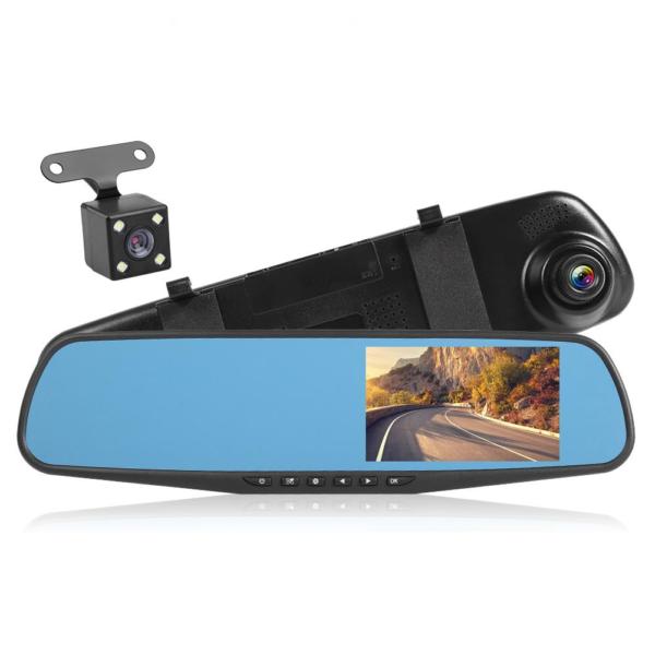 zpětní zrcátko s kamerou do 2 v 1
