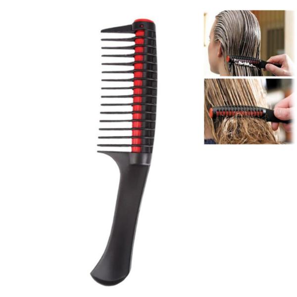 Profesionální hřeben se širokým zubem pro jednodušší barvení vlasů