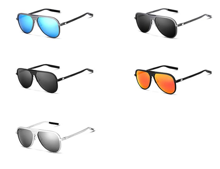 Klasické pánské polarizované sluneční brýle