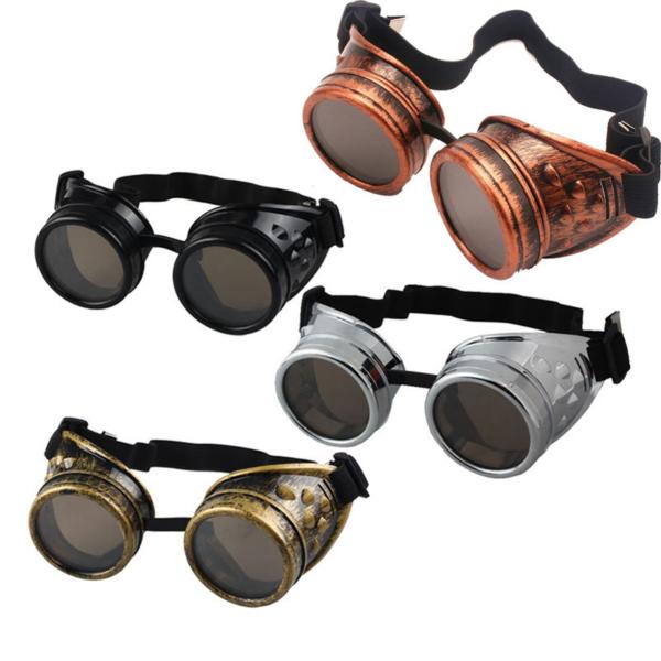 Steampunkové fashion sluneční brýle