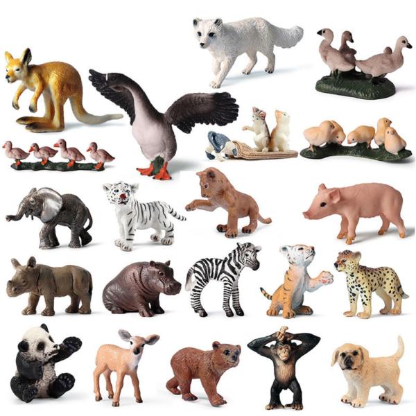 Mini sošky zvířátek