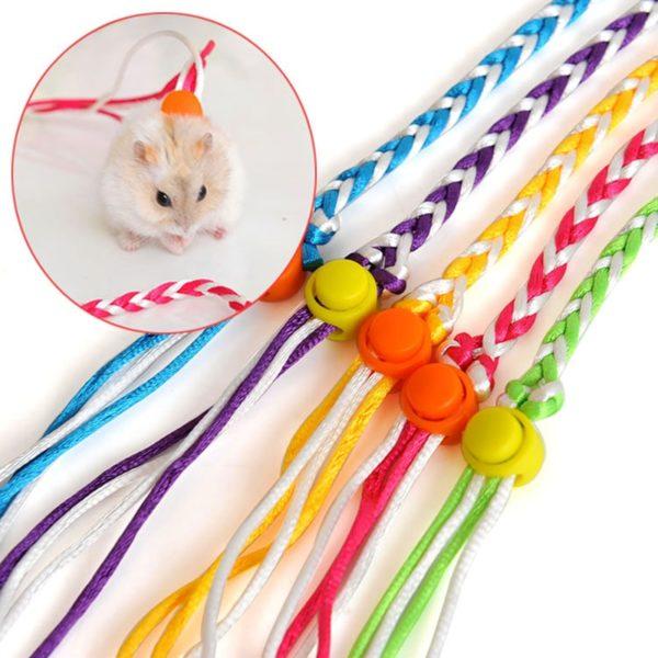 Ručně tkané vodítko pro malá domácí zvířátka - křečky, morčata