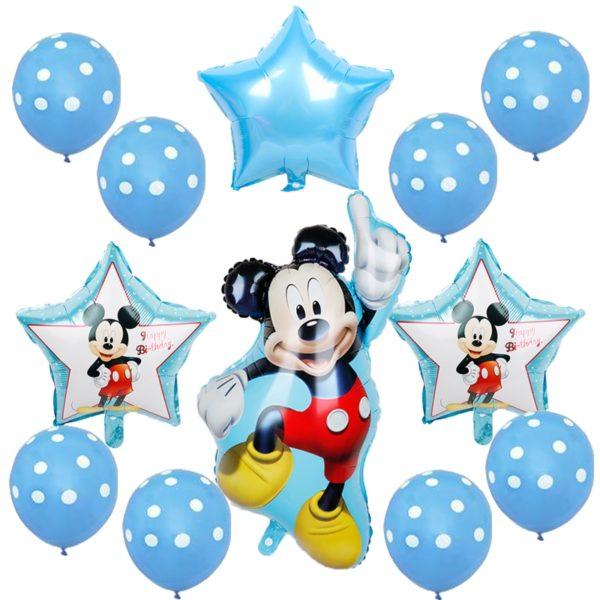 Sada nafukovacích dětských balónků Minnie a Mickey