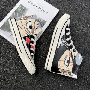 Pánské anime plátěné kotníkové vulkanizované boty