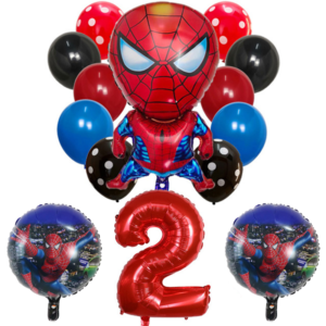 Velký marvel set nafukovacích balónků 9 ks