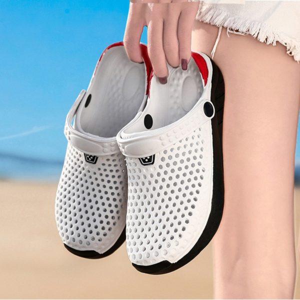 Prodyšné plážové boty pro pány i dámy