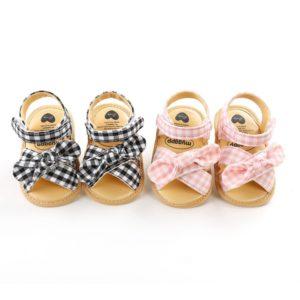 Krásné letní sandálky s mašličkou pro holčičky