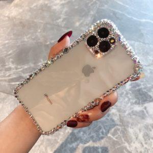 Luxusní zdobený kryt kamínky na Iphone