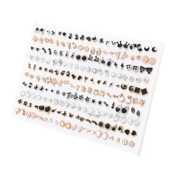 Set dámských náušnic Chloe - 100 kusů