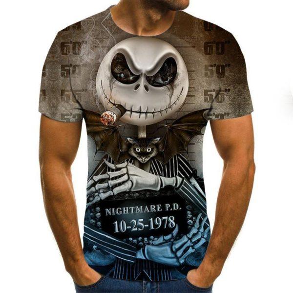 Pánské luxusní triko Skull