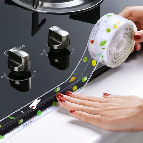 Akrylová kuchyňská těsnící páska