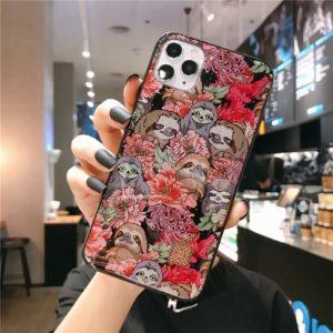 Roztomilé kryty na Iphone s lenochodem