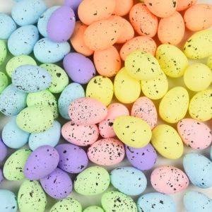 Sada barevných velikonočních vajíček 20 ks