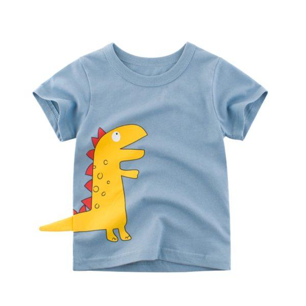 Dětské stylové tričko s Dino ocáskem