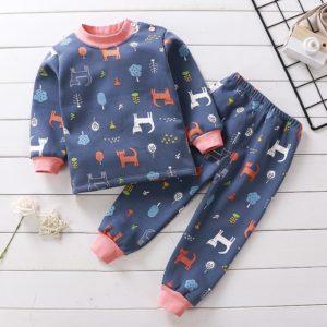 Pyžamové roztomilé sety pro nejmenší