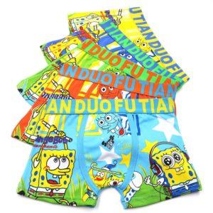 Chlapecké měkké boxerky s motivem Spongeboba