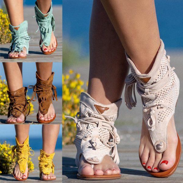 Dámské letní retro sandály