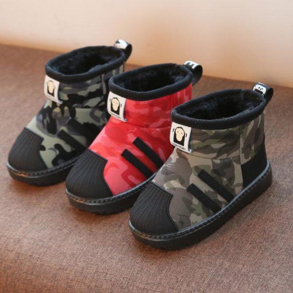 Dětské zimní zateplené botičky MONKEYS