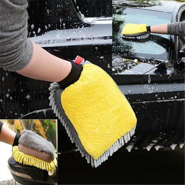 Praktický vodotěsný kartáč na čistění auta