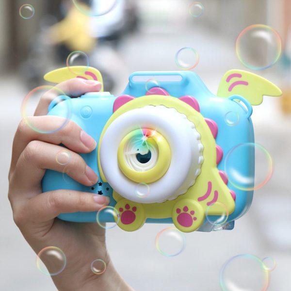 Dětský kouzelný fotoaparát na mýdlové bubliny