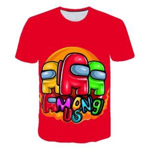 Unisex stylové triko Among