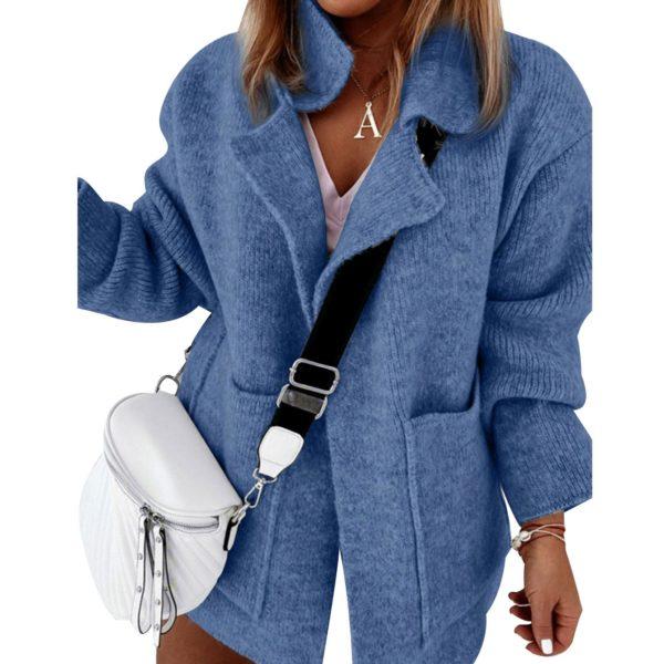 Dámská pletená jarní bunda