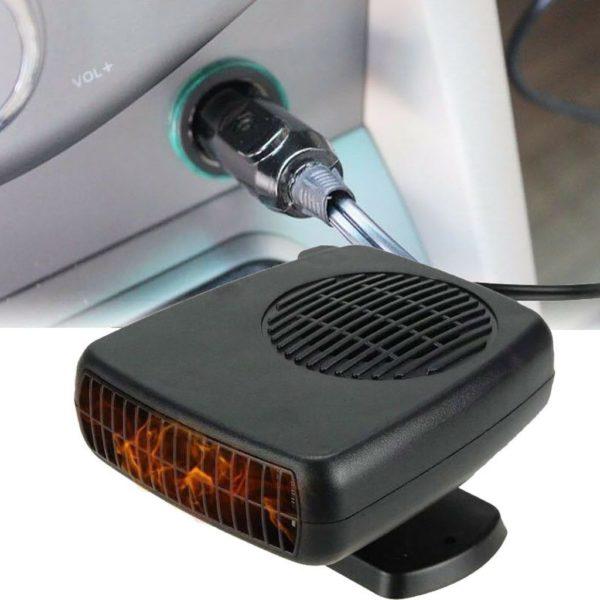 Automatický obdélník 12V 150W ohřívače automobilu, rozmrazovač 2v1