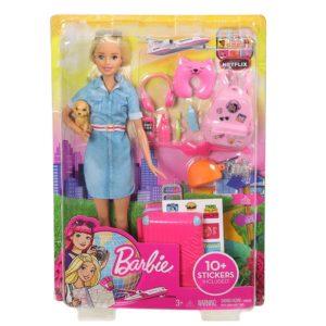 Panenka Barbie cestovatelka