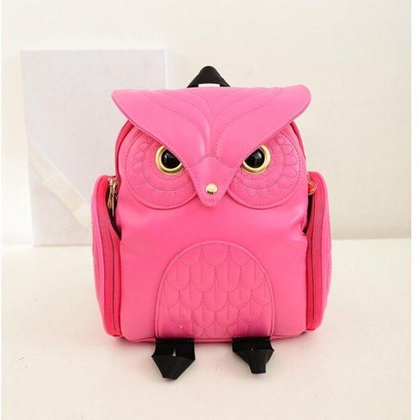 Stylový dámský batoh ve tvaru sovy