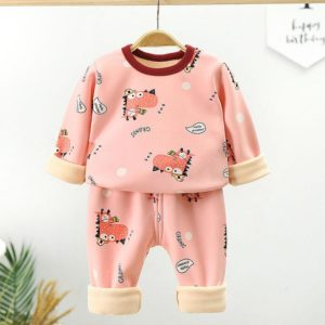 Dívčí a chlapecké pyžamové sety