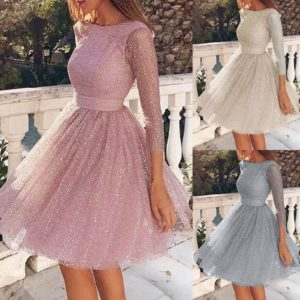 Dámské krátké elegantní princeznovské šaty