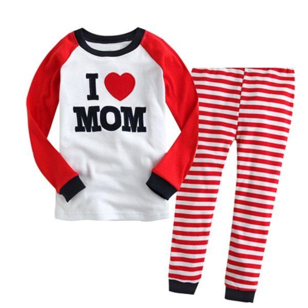 Chlapecké a dívčí pyžama s potiskem