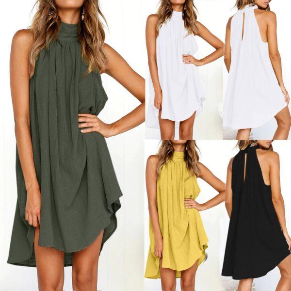 Dámské letní splývavé šaty Cintia
